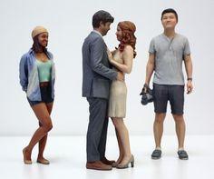 Malden entrepreneur uses 3D printers to make sandstone sculptures of you