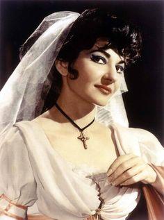 Maria Callas in Tosca