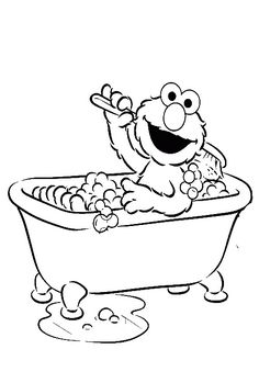 Elmo Carry Interest  Elmo Coloring Pages  Pinterest  Coloring