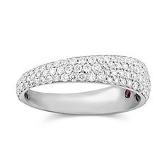 Roberto Coin 18k White Gold Diamond Ring from Borsheims.