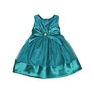 Youngland Toddler Girl's Glitter Occasion Dress  - Satin Bow at Sears.com