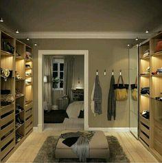 Inspiração ♡ #interiores #design #interiordesign #decor #decoração #decorlovers #archilovers #inspiration #ideias #closet