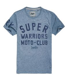 Superdry Warriors Biker T-Shirt