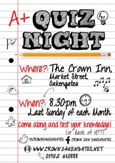 quiz night poster template free - Google Search | Hospice ...