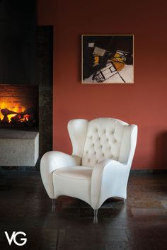 Armchair featured by a classic design and a comfortable upholstered seat with capitonné backrest. Luxury Interior Design, Interior And Exterior, Sofas, Armchairs, Modern Armchair, Italian Furniture, Sofa Furniture, Accent Chairs, Contemporary