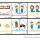Free! Farm Theme:  Different or Same - includes 40 printable cards to teach comparisons and the concepts of same and different.