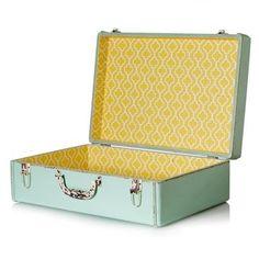 Medium Sorbet Decorative Storage Suitcase