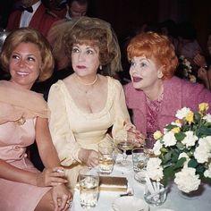June 1964    Mitzi Gaynor (L), Ethel Merman and Lucille Ball    Image by © Bettmann/CORBIS