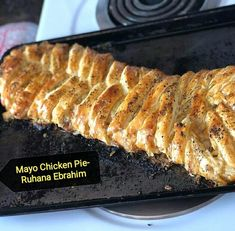 Chicken Mayo Pie recipe by Ruhana Ebrahim posted on 01 Jan 2018 . Recipe has a rating of by 4 members and the recipe belongs in the Savouries, Sauces, Ramadhaan, Eid recipes category Puff Pastry Recipes, Pie Recipes, Real Food Recipes, Greek Dip, Eid Food, Ramadan Recipes, Grilled Chicken Recipes, Food Categories, Pie Dish