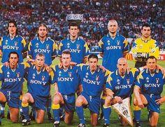 SCRIVOQUANDOVOGLIO: CALCIO CHAMPIONS LEAGUE:FINALE A ROMA (22/05/1996)...