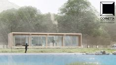 Projeto para casa de campo em madeira reflorestada. #cornettaarquitetura #casasecologicas #lofts #sustentabilidade