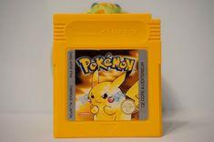Pokemon Edition Version Jaune Pikachu Game Boy Sauver nintendo gameboy FRA 2295