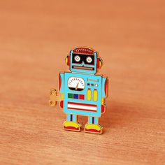 Image of Robot pin