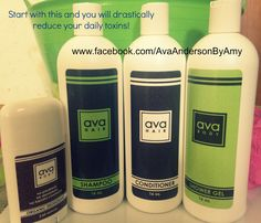 If you are overwhelmed by what product to start with when switching to Ava...I highly recommend these. You use these daily and this would make the biggest impact in lowering the amount of chemicals that touch your skin. Next I would say hand soap and sanitizer! To order yours, please visit www.AvaAndersonNonToxic.com/AmyOParrish and please use party code 52601 and the products will be delivered to your door within 2-3 business days. Easy enough!