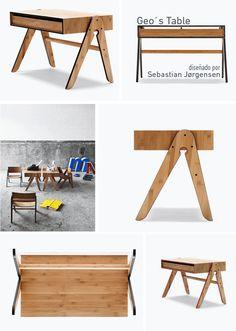Escritorios infantiles, los mejores diseños. Kid´s Desk, best designs. Geo´s Table