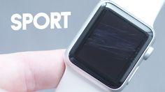 Displayschutzfolie für Apple Watch von GLAZ Liquid