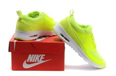 new concept 00c46 faa6b Goedkoop Nike Air Max Thea Dames Print Fluo Groen Wit Collectie Air Max Thea ,