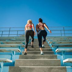 Learn the benefits of having a workout squad and working out with friends. Studies have shown that you're more likely to enjoy your workout, reduce stress levels and increase your pain tolerance when working out with others.