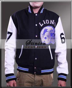 Detroit Lions women's fur hood black fleece jacket | Detroit Lions ...