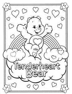 carebearscoloringpages Care Bears Coloring Page 6 Crafty