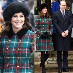 """2,062 Likes, 25 Comments - Royal Addicted (@royaladdicted2) on Instagram: """"#New The Duke and Duchess of Cambridge attended Christmas Day celebrations and Sandringham church…"""""""