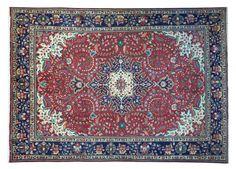 www.tappeti-irana.com  #TABRIZ 40 RAJ #TAPPETO #PERSIANO #LANA SU #COTONE MISURA: 300 X 200 #homedecor #design #interior #oriental #rugs #art
