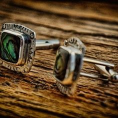 Under a Spell Cufflinks by Q. Miller Handmade Jewelry. American Made. See the designer's work at the 2016 American Made Show, Washington DC. January 15-17, 2016. americanmadeshow.com #americanmadeshow, #americanmade, #jewelry, #cufflinks