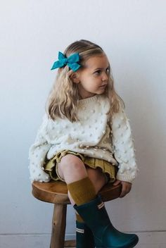 Oversized Schoolgirl // Peacock - Wunderkin Co.- Handmade hair bows for your baby, toddler, or little girl and her free-spirited style. Each of our bows are handmade by women in the USA and guaranteed for life. Shop our bows to complete your little one's one-of-a-kind everyday fashion.