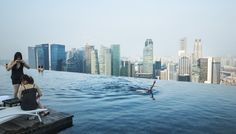 Singapura #pool #view #swim #cityview #day #summer #singapura #warm