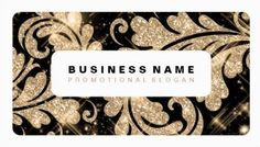 Simple Black and Gold Glitter Damask Sparkle Swirls Business Cards http://www.zazzle.com/simple_gold_glitter_swirls_business_card_templates-240620779192110857?rf=238835258815790439&tc=GBCGlitz1Pin