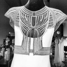 Made to order 1920s style wedding dress - beautiful