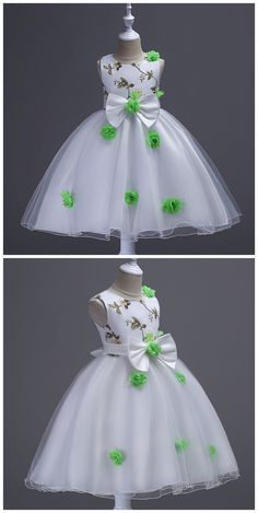 Unique Prom Dresses, Flower Girl Dresses, Bow Embroidry Appliques Pearls Lace Kids Princess Flower Girls Dress, There are long prom gowns and knee-length 2020 prom dresses in this collection that create an elegant and glamorous look Ankara Styles For Kids, African Dresses For Kids, African Lace Dresses, Latest African Fashion Dresses, Little Girl Dresses, Girls Dresses, Kids Dress Wear, Kids Gown, Baby Girl Dress Patterns