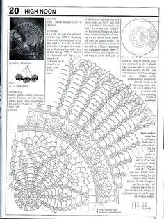 Decorative Crochet Magazines 60 - Gitte Andersen - Álbuns da web do Picasa There are many other chemas Filet Crochet, Crochet Doily Diagram, Crochet Doily Patterns, Crochet Chart, Thread Crochet, Crochet Motif, Crochet Stitches, Crochet Table Runner, Crochet Tablecloth