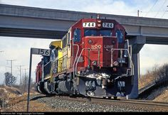 RailPictures.Net Photo: SOO 744 Canadian Pacific Railway EMD SD40 at Doylestown/Fall River, Wisconsin by Tom Farence