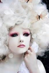 marie antoinette hair and make up inspiration -