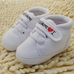1efa171016e Baby Shoes Infant Kids Boy Girl Soft Sole Canvas Sneaker Toddler Newborn  First Walkers
