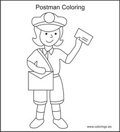 Rock and roll coloring pages drums coloring drums for Mailman coloring pages