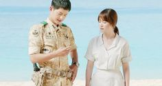 'Descendants of the Sun' Song Hye Kyo: Song Joong-Ki 'Made My Heart Leap' - http://www.australianetworknews.com/descendants-sun-song-hye-kyo-song-joong-ki-made-heart-leap/