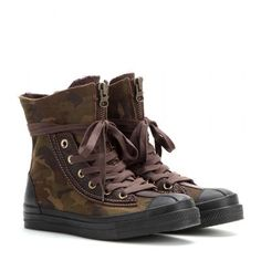 Converse - Chuck Taylor All Star Combat Boot high-top sneakers #converse #allstar #offduty #covetme