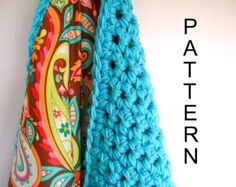 Crochet Reversible Baby Blanket Pattern - Easy Advanced Beginner Pattern ON SALE - Reg 7