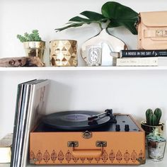 Crosley X UO AV Room Embossed Portable USB Vinyl Record Player - Urban Outfitters