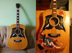 Guitar by Julie Hill / Before + After