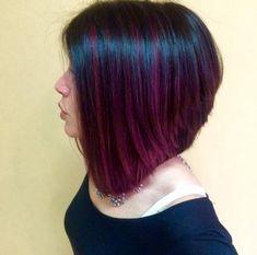 PEEK-A-BOO Orchid Haircolor | Modern Salon