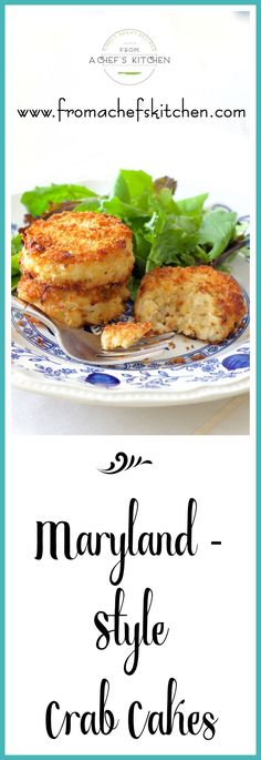 These Maryland-style crab cakes from a recipe handed down several generations are the REAL DEAL! They're the perfect way to enjoy crab!
