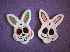 POTIONSMITH: Salt Dough Bunny Skulls