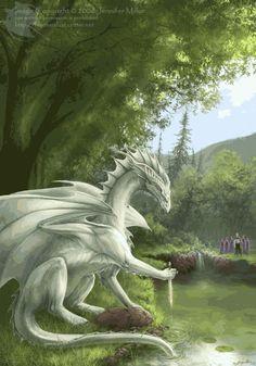 Jennifer Miller www.featherdust.com Dragon Fantasy Myth Mythical Mystical Legend Dragons Wings Sword Sorcery Art Magic Drache dragon drago dragon Дракон  drak dragão