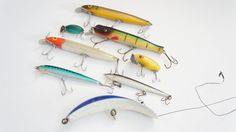 Decorative Fishing Lures by SycamoreVintage on Etsy, $34.99