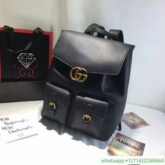 22ba720b713 buy this replica Gucci GG Marmont leather backpack 429007 for men