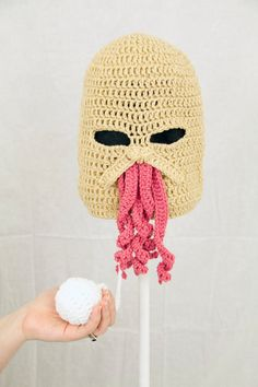 Doctor Who Ood Ski Mask Hat inspiration