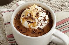 No barista needed to make this luscious Coconut Mocha for two. Just 10 minutes and a taste for something new.